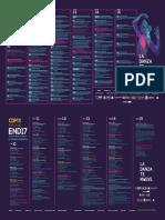Encuentro Nacional de Danza 2017, programa completo