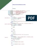 Codigo Fuente de Programa Con Menu(Switch)