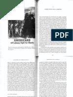 Foner La historia de la libertad en los EEUU Capítulo 10 (Combatiendo por la libertad)