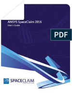 ANSYS SpaceClaim 2016 User Guide