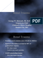 3 Renal Trauma