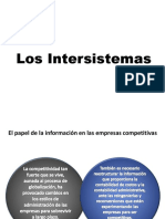 9. Los Intersistemas