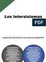 9. Los Intersistemas