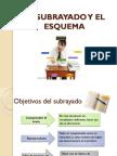 EL-SUBRAYADO-Y-EL-ESQUEMA.pptx