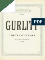 Gurlitt - Chrysanthemes - 24 Etudes Melodiques. Op132.pdf