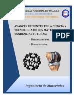 Avances Recientes en La Ciencia y Tecnología de Los Materiales y Tendencias Futuras