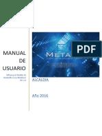 Manual de Usuario Metadoc Ver 1.0