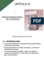 Potencias  - Cap IV - TRANSFORMADORES DE POTENCIA.pdf