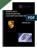 Modelado y Maquinado Del Logotipo de Porsche