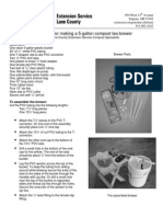Instructions for making a 5-gallon compost tea brewer - Oregon State University