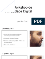 20170616 - LISBOA - Workshop de cPrivacidade Digital
