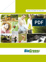 ORGANIC LAWN CARE BROCHURE  - BioGreen Organics
