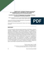 APROVECHAMIENTO DE CACHAMA (Colossoma macropomum) EN LA ELABORACIÓN Y DESARROLLO DE ALIMENTOS FUNCIONALES DE ALTO VALOR BIOLOGICO