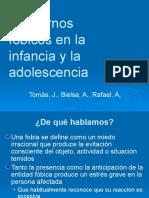 Trastorno Fobicos en La Infancia y La Adolescencia