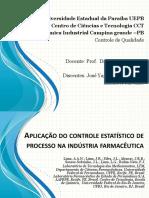 Aplicação Do Controle Estatístico de Processo Na Indústria