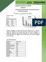Evaluacion y Analisis de Datos