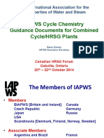 HRSG-14 IAPWS Guidance Documents - Dooley
