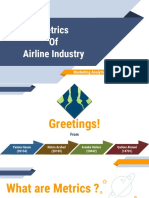 Airline Industry Metrics_MA_Summer 2017
