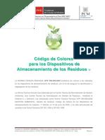 Codigo de Colores -NTP 900 058 2005