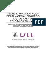 Diseno e Implementacion de Un Material Didactico Digital Para La Educacion Primaria