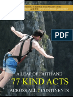 """Excerpt From Book """"A Leap of Faith and 77 Kind Acts Across all 7 Continents"""""""