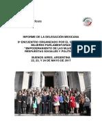 """05-07-17 9° Encuentro Organizado por el Grupo de Mujeres Parlamentarias """"Empoderamiento de las muejeres"""
