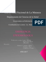 Emergencia Epidemiológica