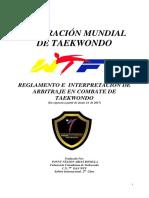 Reglamento de Combate Individual TKD 2017 1