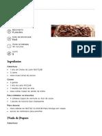 Pavê Moça - Sobremesas Frias - Leite Moça