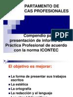 Normas Icontec Medidas de La Portada Etc