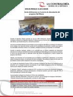 NP19 | La Contraloría advierte deficiencias en el servicio de alimentación del programa Qali Warma