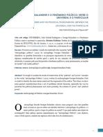 Georges Balandier e o Fenomeno Politico