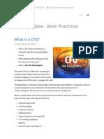 What is a CFO