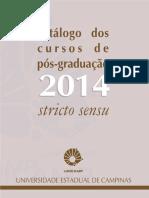 catalogo da pós 2014
