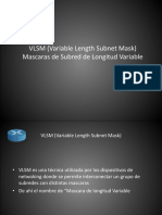 Clase 6 - Creacion de Subredes Con Mascaras de Longitud Variable (VLSM)