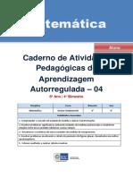 Matematica Regular Aluno Autoregulada 6a 4b