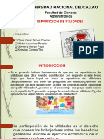Reparticióni de Utilidades Peru Unac