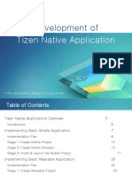 4 Tizen Native App Dev Tizen Studio