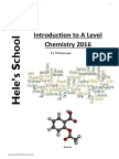 Chemistry Post 16 Induction Task