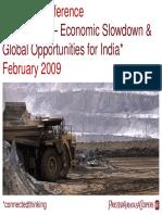 Economic Downturn & Coal Mining Sector in India Dipesh PwC