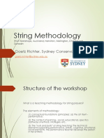 String Methodology