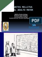 Diabetes Mellitus en El Adulto Mayor