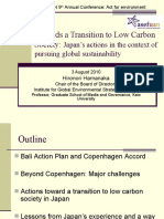 Japan's Action Plan for a Low Carbon Society