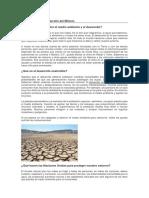 Los Objetivos de Desarrollo Del Milenio DESARROLLO SOSTENIBLE