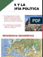 1. Grecia y La Filosofía Política