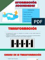 Diapositivas - Transformacion de Sociedades