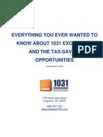 1031 Exchange Manual