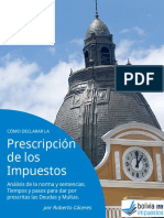 Libro Prescripcion Tributaria Bolivia