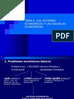 Los Sistemas Económicos y Las Escuelas Economicas