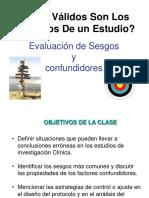 5.1) Sesgos y Confundidores 2015